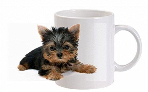 Yorkshire Terrier (oreilles) Tasse en céramique – Passe au lave-vaisselle (FC) 259