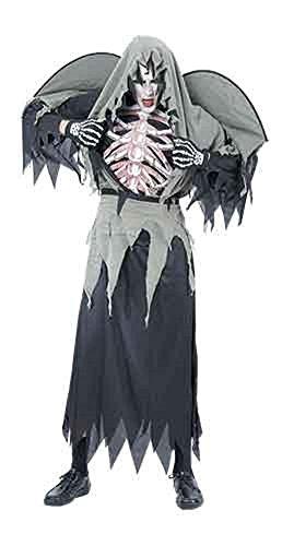 Erwachsene Damen Herren Halloween Hexenmeister Kostüm Onesize passt 36-42 (Onesize (36-42), (Baby Wars Halloween Kostüme Star)