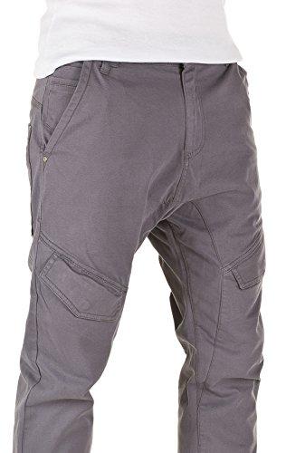 Yazubi Homme Chino Pantalon Cargo Draven grey (3003)