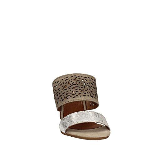 Cafenoir XL620 Sandalo tacco Donna Grigio