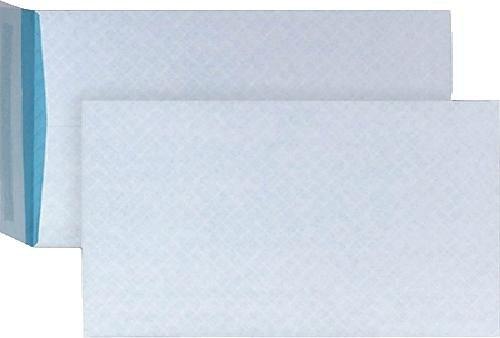 Preisvergleich Produktbild BONG Versandtasche fadenverstärkt weiß blau C4 229x324mm100 haft