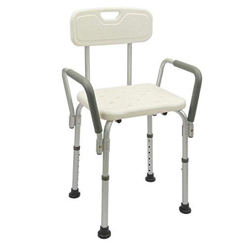 Cablematic - Chaise de douche réglable en hauteur...