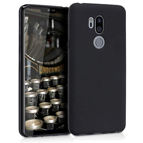 kwmobile LG G7 ThinQ/Fit/One Hülle - Handyhülle für LG G7 ThinQ/Fit/One - Handy Case in Schwarz matt