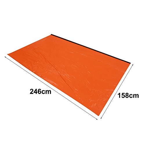 41rpT9K QRL. SS500  - VGEBY Emergency Survival Thermal Reflective Tent Rescue Shelter Foldable Survival Tent Ourdoor