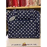 Hobby regalo mr4660/271bolsa de máquina de coser azul marino Blue Spot