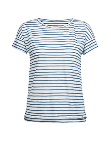 Icebreaker Women's Aria Ss Scoop Pulled Lines First Layers
