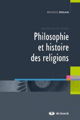 Philosophie et histoire des religions