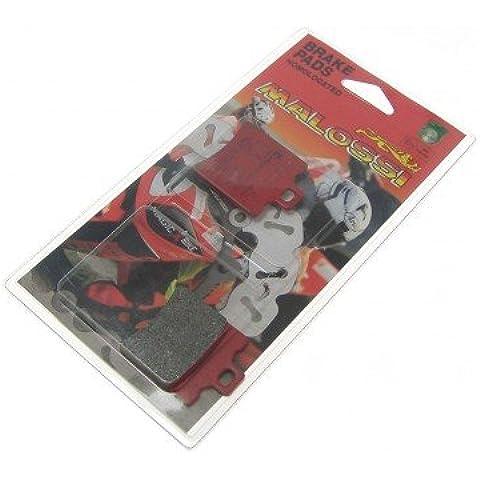 Pastillas de freno MALOSSI MHR S10 39,7 X, 49,5 X 6,3 mm, Aprilia Honda APRILIA SR (All models with drum rear) Anno di co