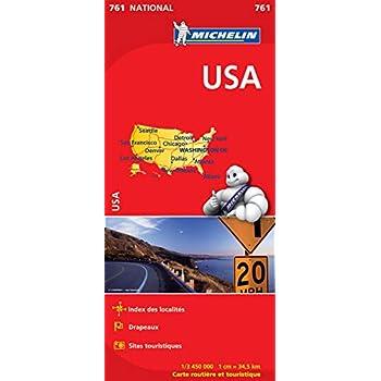 Carte NATIONAL USA