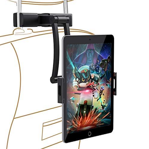 YOUKUKE Car Headrest Mount-Halter Halterungen, KFZ 360° drehbar Einstellbarer Winkel Tablet Kopfstützen Halterung für iPad Pro/Air/Mini, Samsung Galaxy Tab, E-Reader von 5.5-12.9 Zoll