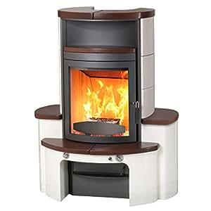kaminofen dauerbrandofen hark avenso ecoplus jola braun stone 8 kw baumarkt. Black Bedroom Furniture Sets. Home Design Ideas