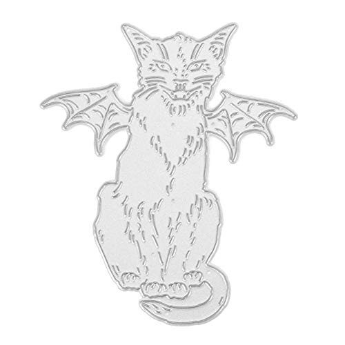 Broadroot Halloween Stanzformen Schablonen Sammelalbum Prägen DIY Craft Album Karte Geschenk (11)