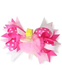 Mud Pie Baby-Girls Newborn Ballet 3-In-1 Blonde Ballerina Bow