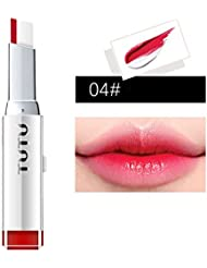 Moresave Doppelt Gradient Farbe Matt wasserdicht Lippenstift Langlebig Lipgloss