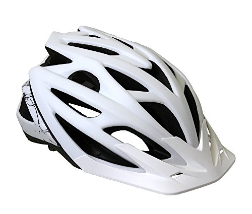 Cannondale Radius MTB Fahrrad Helm weiß 2019: Größe: S/M (52-58cm)