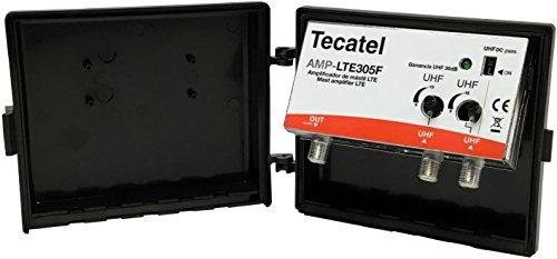 Tecatel AMP-LTE305F - Amplificador mástil 30 dB UHF-UHF