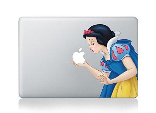 MacBook Schneewittchen küssende Apple Vinyl Aufkleber für MacBook Pro/Air 33,02 - Aufkleber Pro Macbook Schneewittchen