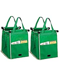 Set Of 2 Carry-on Shopping Grab Bags