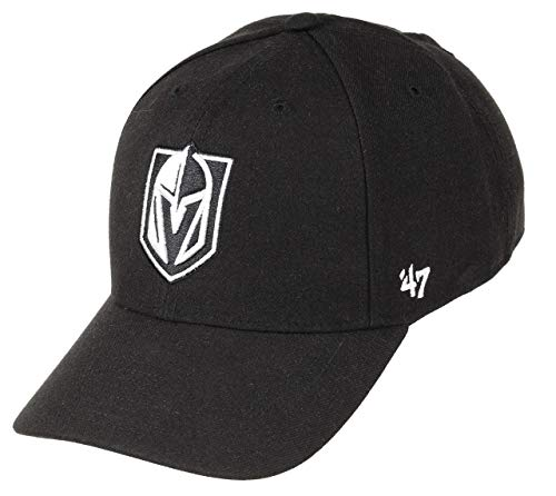 47Brand Las Vegas Golden Knights Adjustable Cap MVP Snapback NHL Black/White - One-Size (47brand Snapback)