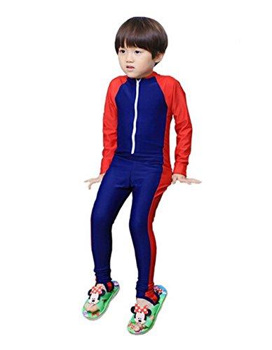 5dd5225e9bc LifeWheel Kids Boys Girls Wetsuit One-piece Long Sleeve Swimwear Bodysuit  Quick Drying Swimsuit Age 3-9years. related-product. ziyimaoyi Women Modest  ...