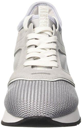 Bikkembergs Runn-er 802, Sneakers basses homme Grigio (Grey/white)