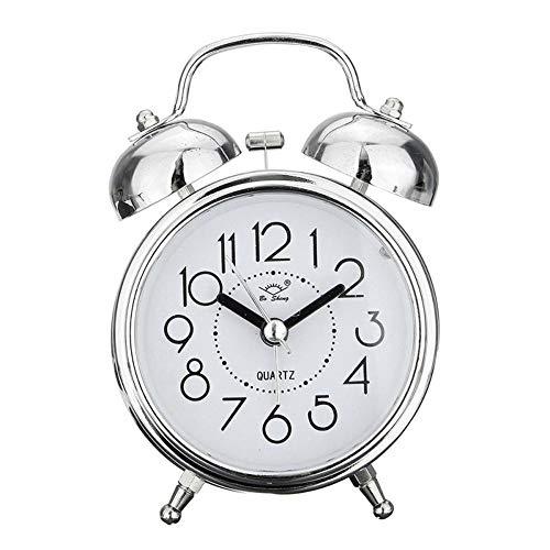 CNCBT Retro silencioso Relojes Puntero Retro Reloj