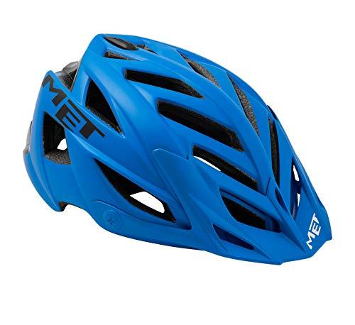MET Fahrradhelm m3helm91unbl, M, Blau, Unisex