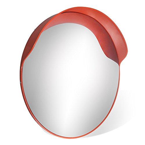 Specchio convesso 60cm infrangibile sicurezza grandangolo strade incroci GLO60