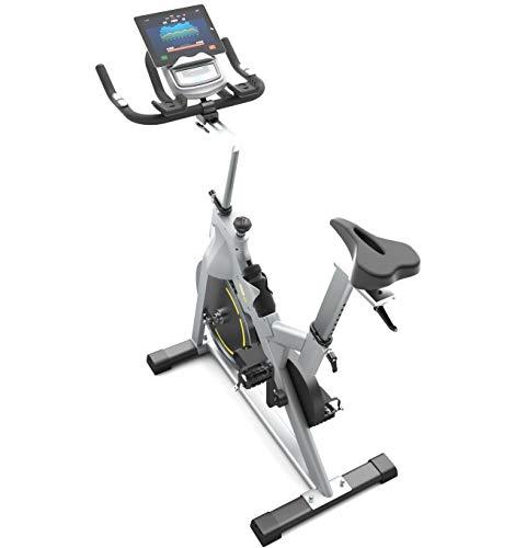 Bluefin Fitness Heimtrainer Tour Spin | Fett verlieren und Sich zu Hause stärken | Variabler Widerstand Studio Spinning Bike | LCD Bildschirm