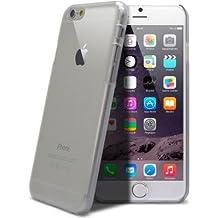 Carcasa para Iphone 6, Telecomcity-Funda de silicona para Iphone 6-Funda transparente