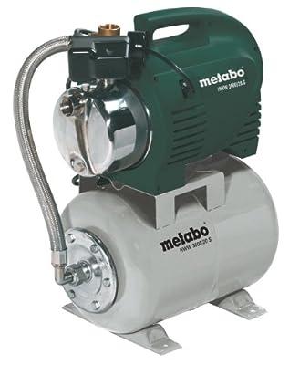 Metabo 250300120 Hauswasserwerk HWW 3000, 20S, 900W, 230Volt, 50Hz von Metabo