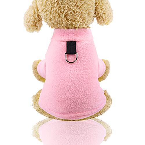 Haustierkleidung Hundepullover, Hawkimin Winter Haustier Katze Hundebekleidung Warm Jacke Mantel Classic Sweater Pullover Kleidung Kostüm Sweatshirt Hunde für Kleinen - Zebra Hunde Kostüm