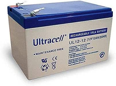 Batterie au Gel Plomb AGM 12V 12Ah Sans entretien pour Télécommunications