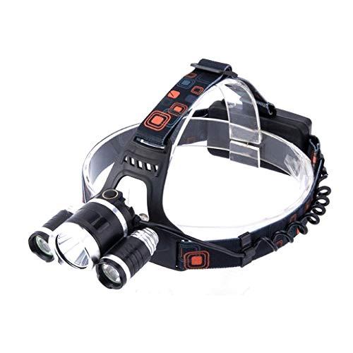 head Lamp Super Brillant Lampe Frontale 1000 Lumens Torche Frontale LED avec 4 Modes Batterie 18650 Rechargeable Lampe De Poche pour Activités De Plein Air comme Le Camping Pêche Chasse
