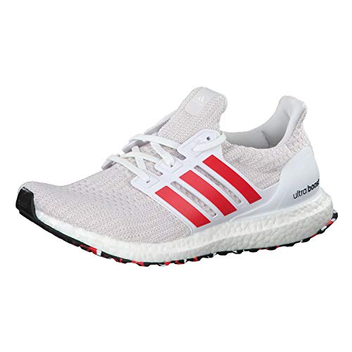 official photos bb235 fc043 adidas Ultraboost, Scarpe da corsa Uomo, Bianco (Ftwr WhiteActive Red