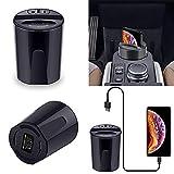 Hunpta@ Auto Wireless Charger für Samsung 10W Car Wireless Charger Cup mit USB-Ausgang Samsung Galaxy iPhone (A)