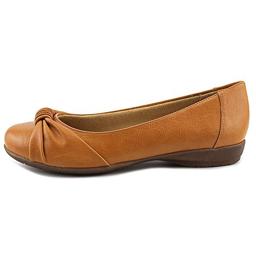 Naturalizer Gayla Femmes Synthétique Chaussure Plate Tan 3