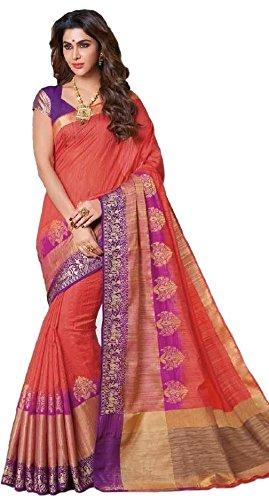 1f2adec508 Rajguru Raw Silk Saree With Blouse Piece (RSP-2026 ...