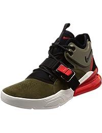 best service 634dd bbf2f Nike Unisex Air Force 270 Mid Oliv Leder Sneaker