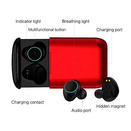 Auricolari bluetooth senza fili Kingsky Cuffie in ear Wireless mini  auricolare bluetooth Hi-Fi Cuffie Cancellazione Rumore Touch Screen  Bluetooth Earbuds ... bd16dcd54d38