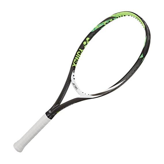 Yonex E Zone 108 Graphite Strung Tennis Racquet, 27-inch 255 g (Lime Green)