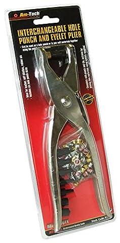 Perforatrice de ceinture en cuir de 22,9cm et pince à œillets de Heavy Duty Plastique Puncher Œillet.
