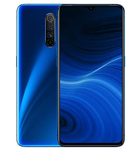Realme X2 Pro - Smartphone de 6.5', 12 GB RAM + 256 GB ROM, SuperAMOLED, procesador Octa-Core, cuádruple cámara 64 MP + 16 MP, Dual Sim, Azul (Neptune Blue)