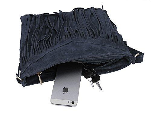 bag2basics Simplicity, Borsa a tracolla donna taglia unica Blu