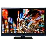 Sharp Aquos LC 40 LE 700 E 101,6 cm (40 Zoll) Full-HD 100 Hz LCD-Fernseher mit LED-Backlight mit integriertem DVB-T/-C Digitaltuner schwarz/blau