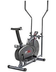 Fitfiu BELI-100 Bicicleta elíptica estática Unisex Adulto, Gris 5kg