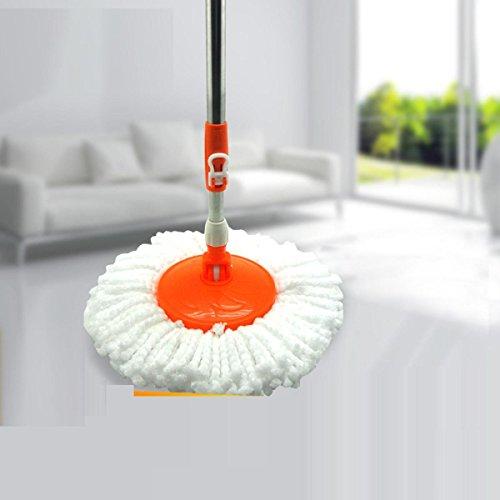 GAOJIAN Home Mop 360 Rotierende Edelstahl Microfaser Mop Tuch Schlafzimmer Wohnzimmer Reinigung Werkzeug