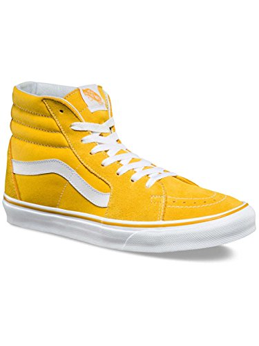 Vans Sk8-hi - (suede/canvas) Spectra Yellow/true White - 11 (suede/canvas) Spectra Yellow/true White