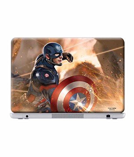 Macmerise Licensed Marvel Comics Captain America Laptop Skins For Alienware 14