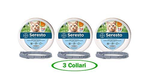 Culater Collari per Cani E Gatti Domestici Il Nuovo Collare Antipulci per Cani Anti-Zanzare Anti-Pidocchi in Nylon